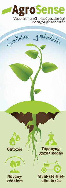 AgroSense vezeték nélküli mezőgazdasági adatgyűjtő rendszer